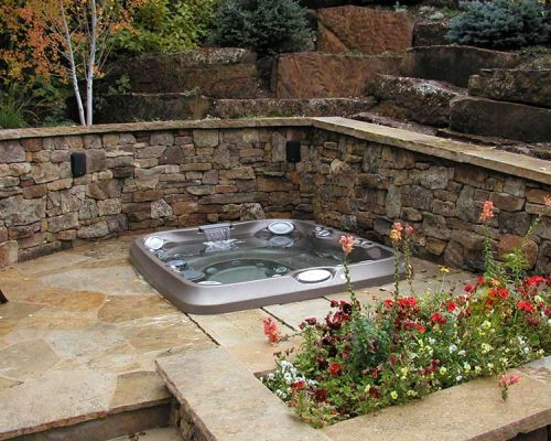 Backyard Jacuzzi® Hot Tub Installation Amherst New York