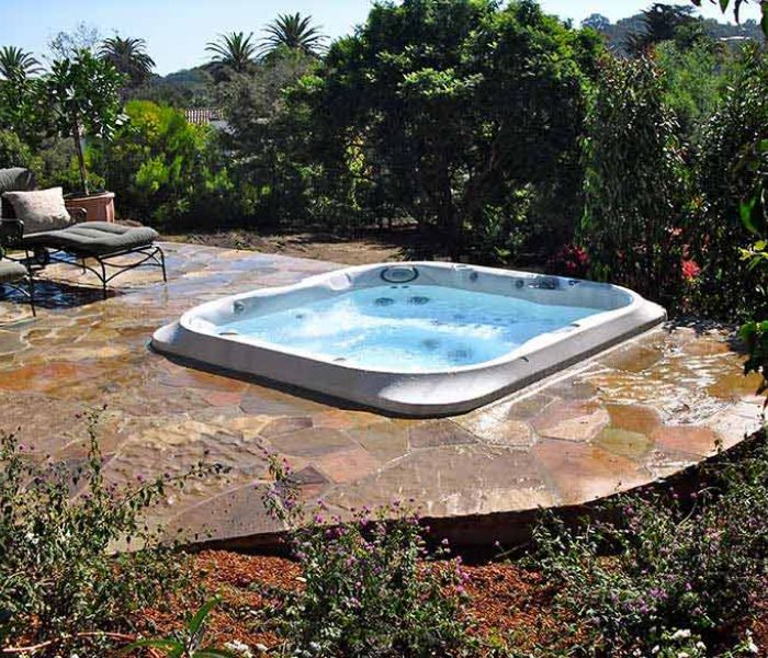 Backyard Jacuzzi® Hot Tub Installation Western New York