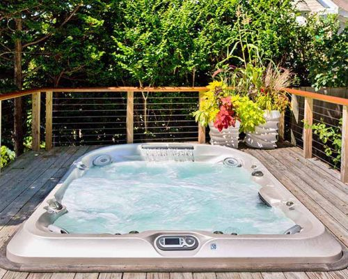 Jacuzzi® Hot Tub Deck Installation Amherst New York