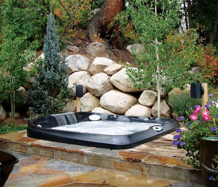 Jacuzzi® Hot Tub Installation Garden Western NY