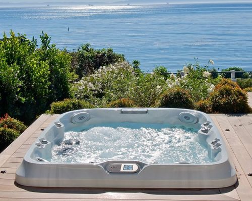 Jacuzzi® Hot Tub Installation Water Western New York