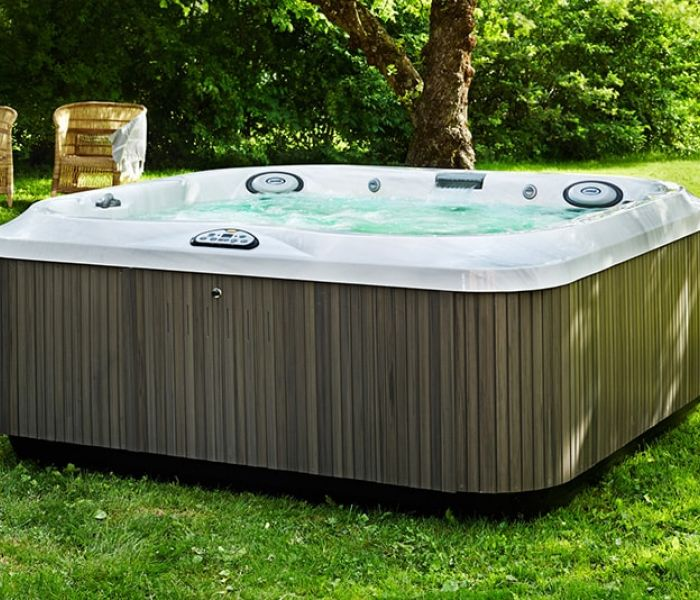 Jacuzzi® Hot Tub Lawn Install Clarence New York