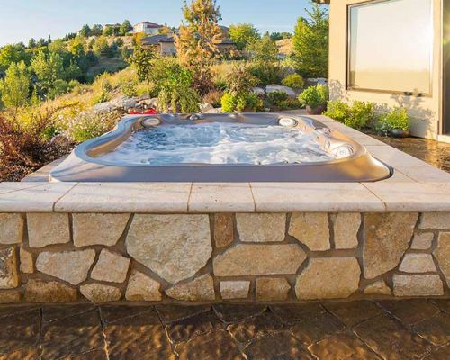 Outdoor Jacuzzi® Installation Summer Western NY
